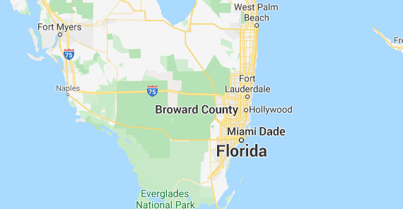 Alarm Brokers of Florida Service Area Map