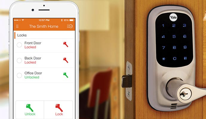 Alarm Brokers of Florida's Smart Locks
