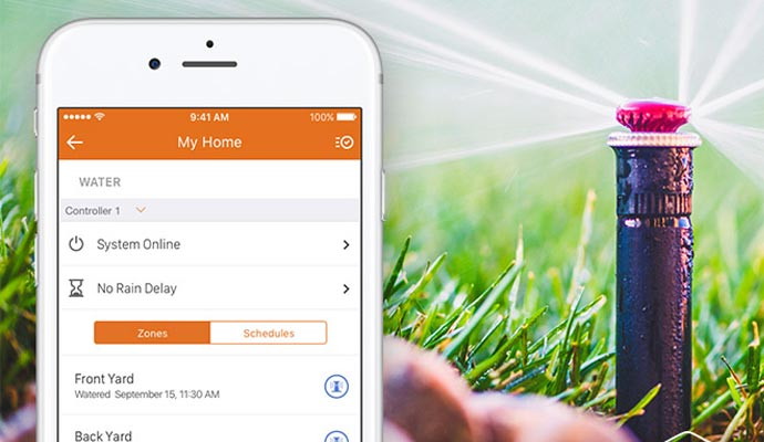 Smart Irrigation for Outdoors